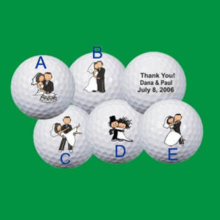 Golf Ball Stamp - Personalized Golf Balls