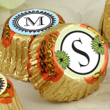 Personalized Monogram Hershey Reese's Wedding Favors