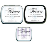 Wedding Mint Tins - Always and Forever