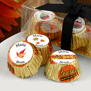 Fall Themed Wedding Hershey Reese's