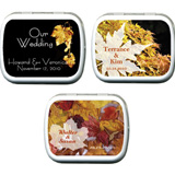Wedding Mint Tins - Fall (9 designs available)