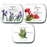 Wedding Mint Tins - Flowers (35 designs available)