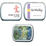 Wedding Mint Tins - Other Designs (13 designs available)