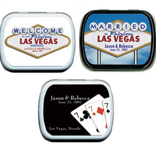 Wedding Mint Tins - Las Vegas (4 designs available)
