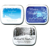 Wedding Mint Tins - Winter (3 designs available)